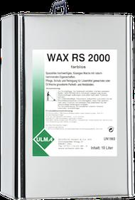 Wax RS 2000 _ 2010